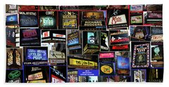 2016 Broadway Spring Collage Beach Towel