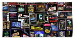 Beach Towel featuring the photograph 2016 Broadway Spring Collage by Steven Spak