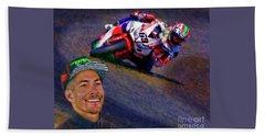 2016 Fim Superbike Nicky Hayden Beach Sheet
