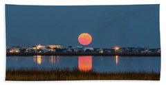 2017 Supermoon Beach Towel