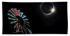 2017 Total Eclipse Central Nebraska Beach Sheet