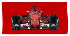 2017scuderia Ferrari Sf70h Beach Sheet