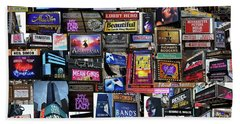 2018 Broadway Spring Collage Beach Towel