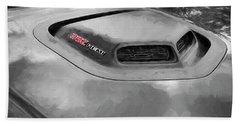 2018 Dodge Challenger 392 Hemi Scat Pack Shaker Rt 005 Beach Towel