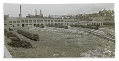 207th Street Railyards Beach Towel