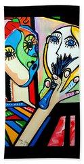 Artist Picasso Beach Sheet