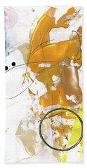 Three Color Palette Beach Towel by Michal Mitak Mahgerefteh
