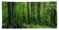 Beach Towel featuring the photograph Jungle by Les Cunliffe