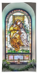 Saint Anne's Windows Beach Towel