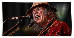Neil Young Collection Beach Towel