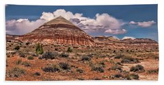 Capitol Reef National Park Catherdal Valley Beach Towel