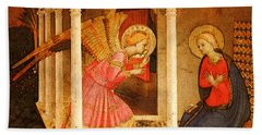 Fra Angelico  Beach Towel by Fra Angelico