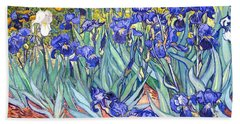 Irises Beach Sheet