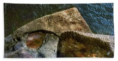 Stone Sharkhead Beach Towel