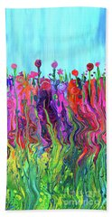 #2555  Happylittle Garden Beach Sheet