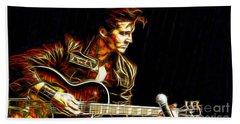 Elvis Presley Collection Beach Towel by Marvin Blaine