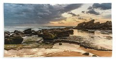 Dawn Seascape Beach Sheet