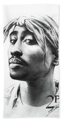 2pac Beach Towel