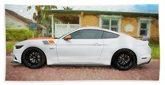 2017 Ford Gt Mustang 5.0 Beach Sheet