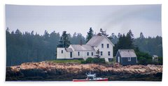 Acadia National Park  Beach Sheet by Trace Kittrell