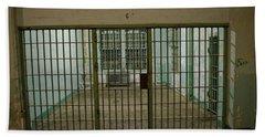 Alcatraz Federal Penitentiary Beach Towel