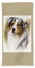 Australian Shepherd Beach Sheet