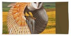Barn Owl Beach Sheet