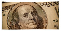 Beach Towel featuring the photograph Benjamin Franklin by Les Cunliffe