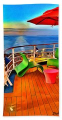 Carnival Pride Deck Beach Towel