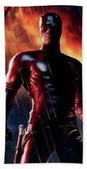 Daredevil Collection Beach Towel by Marvin Blaine