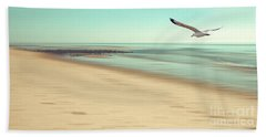 Beach Towel featuring the photograph Desire Light Vintage by Hannes Cmarits