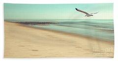 Desire Light Vintage Beach Sheet by Hannes Cmarits