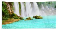 Detian Waterfall Beach Towel