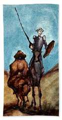 Don Quixote  Beach Towel