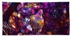 Beach Sheet featuring the digital art Dove Bird Feather Animal Plumage  by PixBreak Art