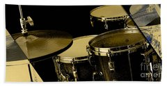 Drums Collection Beach Towel