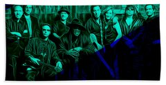 E Street Band Collection Beach Towel by Marvin Blaine