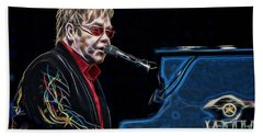 Elton John Collection Beach Sheet by Marvin Blaine