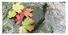 Fall Colors Beach Sheet