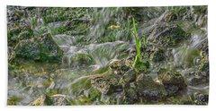 Falling Water Beach Towel