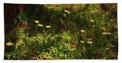 Beach Sheet featuring the photograph Flowers by Cassandra Buckley