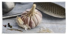 Garlic Beach Towel