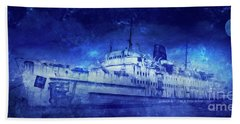 Ghost Ship Beach Towel