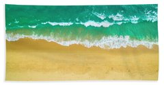 Golden Coast Beach Towel