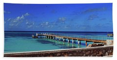 Beach Towel featuring the photograph Grand Turk by Gary Wonning
