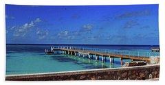 Grand Turk Beach Towel by Gary Wonning