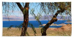 Hoover Dam Visitor Center Beach Towel by Kathryn Meyer