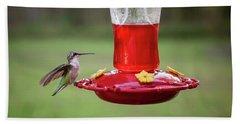 My Sweet Hummingbird Beach Towel