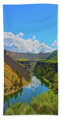 Beach Towel featuring the photograph Idaho Landscape by Dart Humeston
