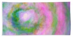 Beach Towel featuring the photograph Impression Series - Floral Galaxies by Ranjay Mitra